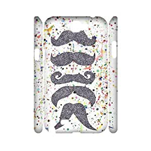 Cool mustache Cheap Custom 3D Cell Phone Case Cover for Samsung Galaxy Note 2 N7100, Cool mustache Galaxy Note 2 N7100 3D Case
