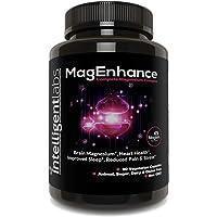 Intelligent Labs MagEnhance Magnesium Supplement, magnesium-l-threonate complex, met magnesium glycinate en taurate, 90…