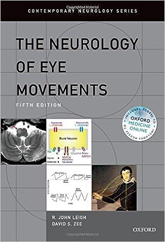 The Neurology Of Eye Movements (Contemporary Neurology Series) Free Download