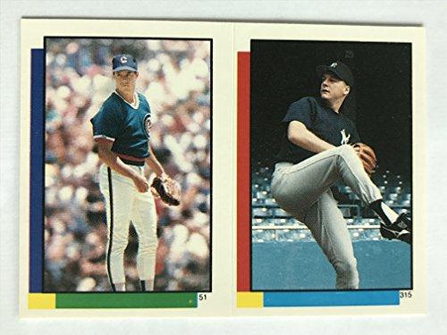 1990 Topps Stickers #51 Greg Maddux NM/M (Near Mint/Mint) ()