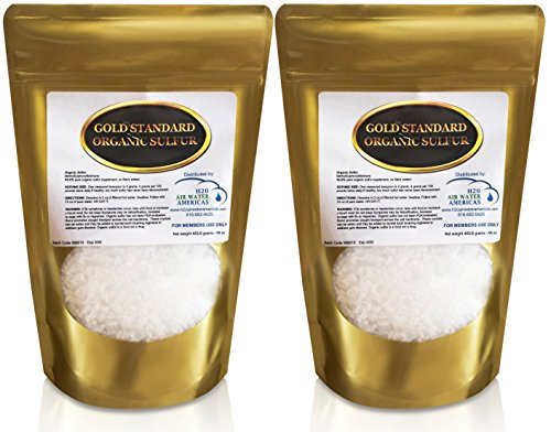 Gold Standard Organic Sulfur Crystals 2lb - 99.9% Pure MSM Crystals - Largest Granular Flakes Available! 3rd Party Tested **Same Day Priority Shipping**