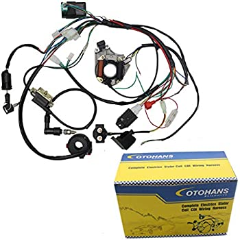 Amazon.com: Complete Electrics Coil CDI Wiring Harness ATV ... on