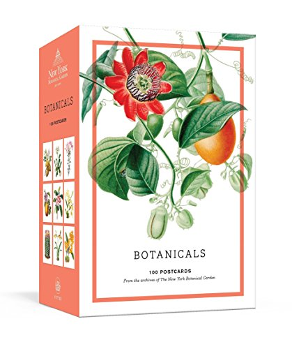 Botanicals: 100 Postcards from the Archives of the New York Botanical Garden (Postcard Plant Vintage)