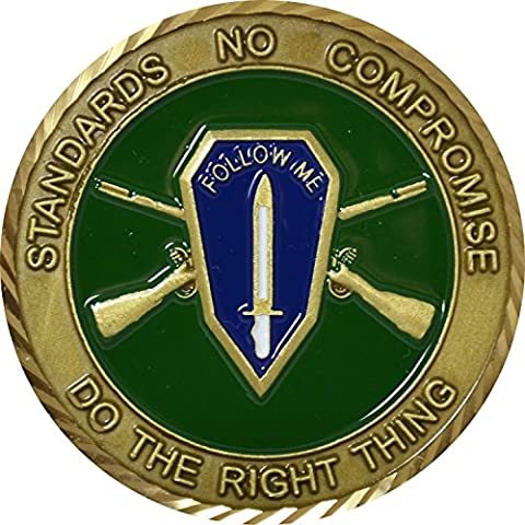 Fort Benning OCS Challenge Coin (Military Fort)