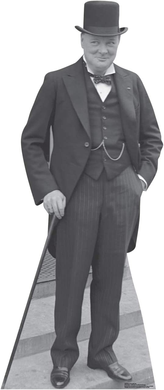 Advanced Graphics Winston Churchill Life Size Cardboard Cutout Standup