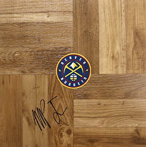 - Michael Porter Jr. Denver Nuggets Signed Autographed Basketball Floorboard