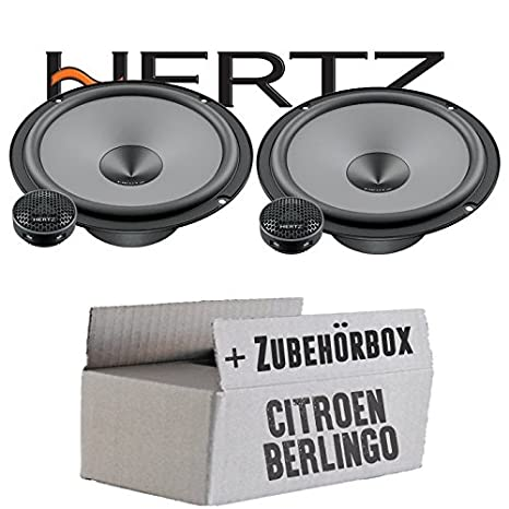 Citroen Berlingo 1 - Hertz K 165 - Kit - 16 cm Altavoz Sistema - Compostador OHG -: Amazon.es: Electrónica