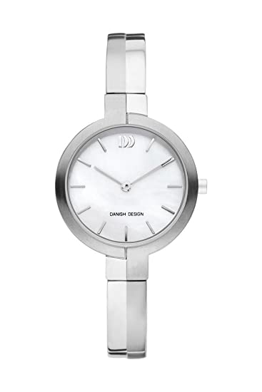 Danish Design Titanium Reloj analógico para mujer Quartz Titanio Plata iv62 q1149