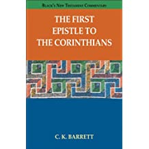 FIRST EPISTLE TO THE CORINTHIANS, THE