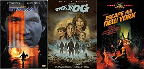 (John Carpenter Horror Sci-Fi Classic Collection - Escape from New York, Starman & The Fog (Collector's Edition) 3-DVD)