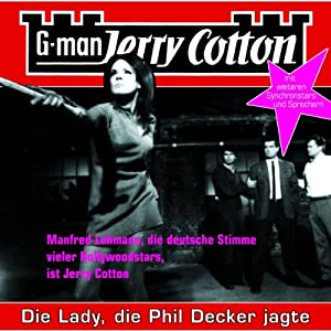 Die Lady, die Phil Decker jagte (Jerry Cotton 8) Hörspiel