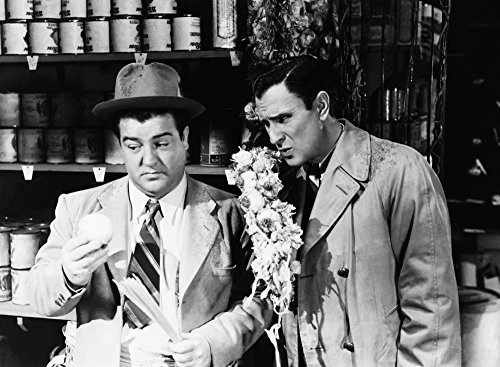 Hold That Ghost From Left Lou Costello Bud Abbott 1941 Photo Print (14 x 11)