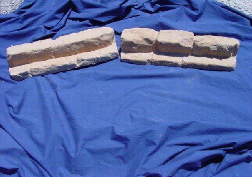 Set de Flagstone Rock aspecto bordes, diseño de cenefa hormigón cemento Jardín Patio moldes 5021: Amazon.es: Hogar