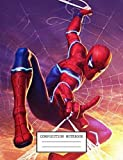Composition Notebook: Cool Spiderman Far From Home School Supplies Journal 7.44 x 9.69 in 110 pages