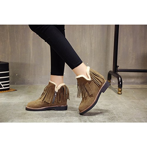 Winter Pa Kyle Plus Velvet Increase Boots Tassels Walsh Snow Within Women qtxTnRFxA