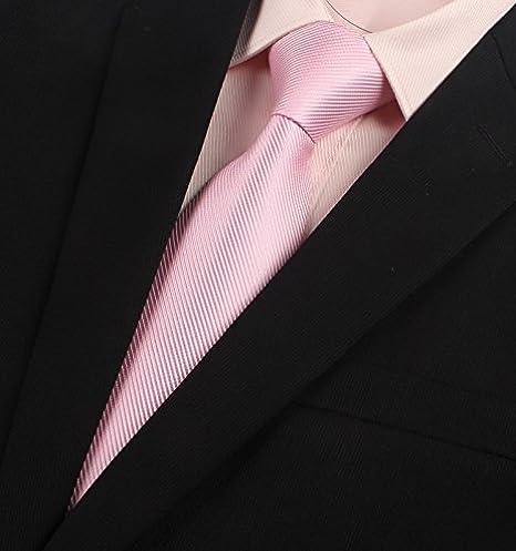 GENTLEE TIE Rosa Morado hombres trajes de vestir atar la versión ...