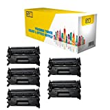 NYT Compatible CF226A Toner Cartridge - HP 26A for Laserjet Pro M402d, M402dw, M402dn, M402dne, M402n, MFP M426dw, M426fdn, M426fdw - 5 Pack - Black