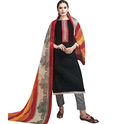 Palazzo Pants Cotton Embroidered Salwar Kameez Suit Readymade