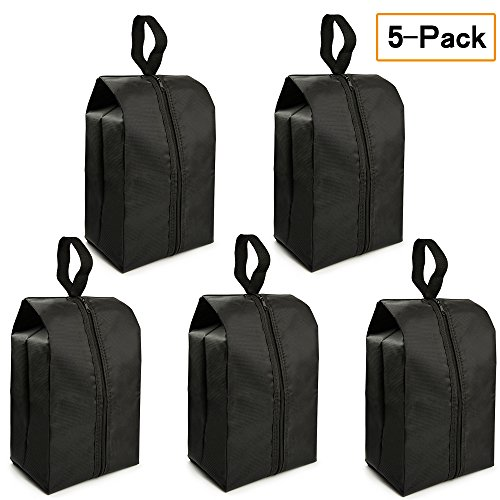 """Travel Shoe Bags Set of 5 14.8""""x7"""" Portable Shoe Tote Bags with Multi-purpose Travel Accessories for Men and Women by FLYEGO by FLYEGO"""