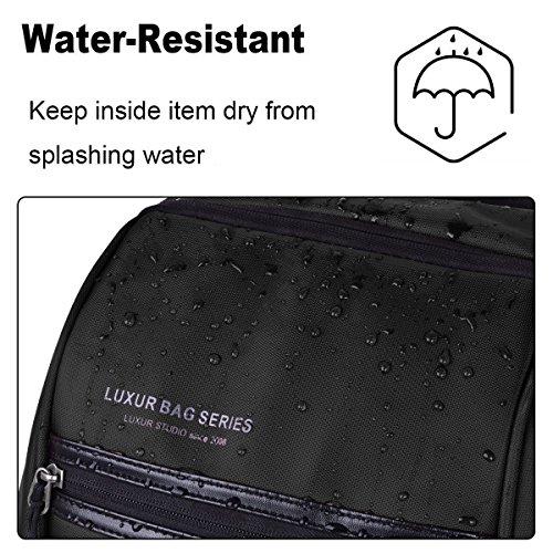 LUXUR 37L Laptop Backpack USB Charging Port Nylon Waterproof Casual School Business Travel Daypack