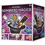 Tobar sombrero mágico - caja con el sombrero de magia y trucos de ... 2661bd09f5c