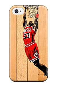 2HFNMSPCH9UDOLUT michael jordan chicago bulls nba basketball red boards NBA Sports & Colleges colorful iPhone 4/4s cases