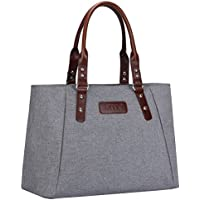S-ZONE Women's Handbags Lightweight Large Tote Casual Work Bag Shoulder Bag