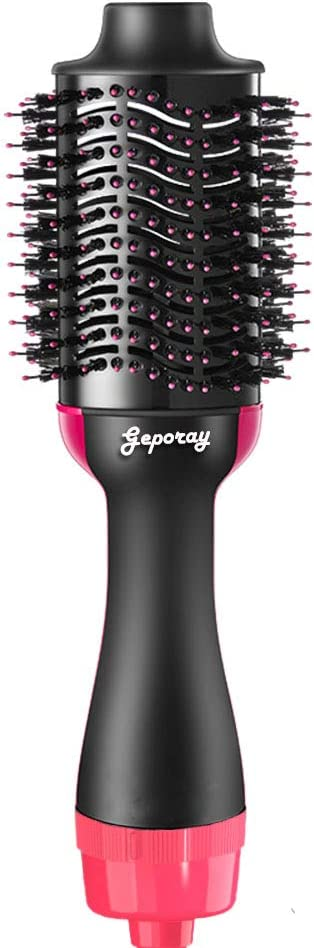 Hair Dryer Brush, One Styling Step Hair Dryer and Volumizer 3 in 1 Hot Air Brush for Women, Fast Drying, Straightening, Curling: Health & Personal Care