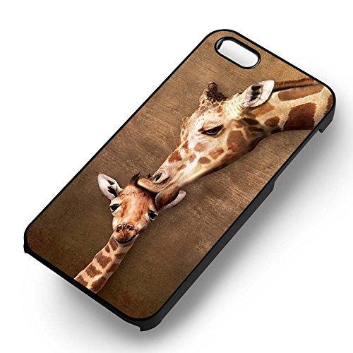 Kissing The Baby pour Coque Iphone 6 et Coque Iphone 6s Case (Noir Boîtier en plastique dur) U7I3LL