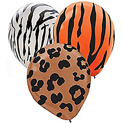 Animal Print Latex Balloons | Pack of 20 | Party Decor: Toys & Games