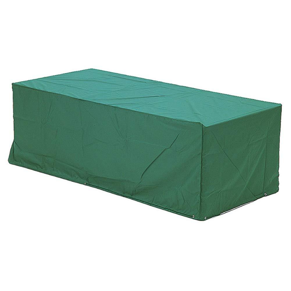 HAIPENG ターポリンタープ 庭園 家具 カバー 防塵 防水 パティオ ラタン 表 椅子 セット アウトドア、 マルチサイズ、 カスタマイズされた (色 : Green, サイズ さいず : 300x260x100cm) 300x260x100cm Green B07HX11L7N