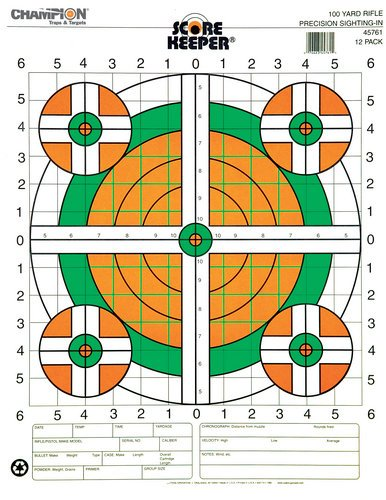 Scorekeeper Flou 100yd Champion Targets