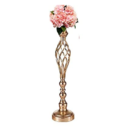 Amazon Lanlong Metal Gold Candle Holders Road Lead Table