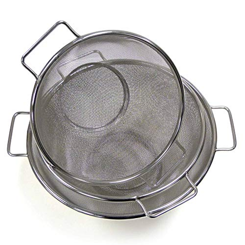 RSVP MSH-3 Mesh Strainer Set of 3 (Endurance Stainless Steel Colander)