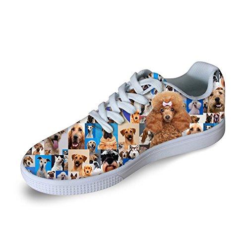 Casual Dog Sneaker Print U 3D Skateboard Men DESIGNS FOR Fashion Shoes Women Animals 3 BwWPcqc7v