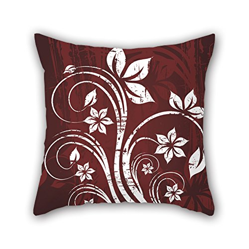 PILLO Pillow Cases Of Flower 18 X 18 Inches / 45 By 45 Cm,best Fit For Lounge,gril Friend,festival,sofa,monther,club Twin Sides