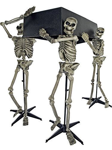 Skeleton Pall Bearers with Coffin Decoration for $<!--$46.64-->