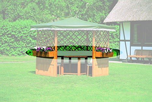 Jardinera para pérgola Marburg Individual o como set de 5: Amazon.es: Jardín