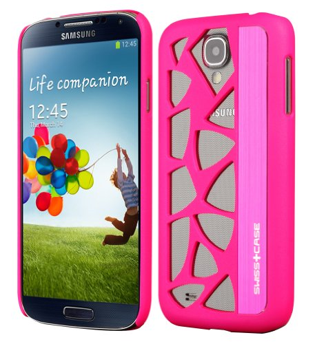 SWISS+CASE Glacier Case for Samsung Galaxy S3 - Retail Packaging - Hot Pink