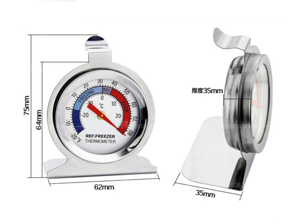 Casablack Precision Products Nicolife Classic - Termómetro con ...