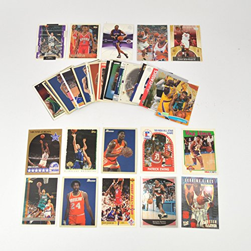 40 Basketball Hall-of-Fame & Superstar Cards Collection Including Players such as Michael Jordan, Magic Johnson, LeBron James. Ships in Protective Plastic Case Perfect for Gift - Jordan Brands In
