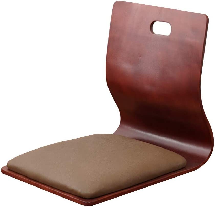 Ylcj Lazy Sof Floor Chair Bed Seat Floor Seats Tatami Game Chair Meditation Chair Bedroom Bedroom Computer Backrest Solid Wood Chair Color Marr N Amazon Co Uk Kitchen Home