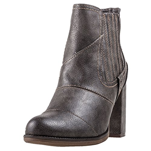 Mustang Heel Ankle Boot Womens Boots