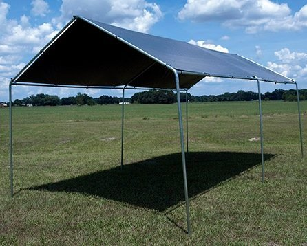 Silver Tarp Extra Heavy Duty Tarp. Water Proof. UV Blocking. Reversible. All Purpose. 20' x 40' - National Standard Products