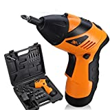 Best Cordless Drill Under 100s - Cordless RechargeableScrewdriver, niceEshop(TM) 4.8V 45 in 1 Non-slip Review