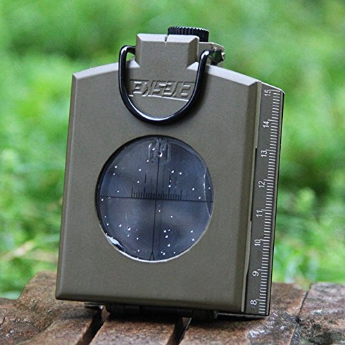 Geological compass outdoor multi-purpose compass compass fluorescence measurement slope