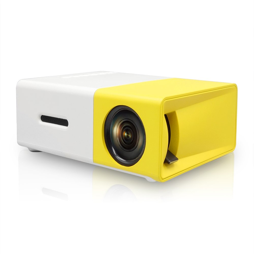 Amazon.com: Wewdigi LCD Portable Projector 400-600 LM Mini ...