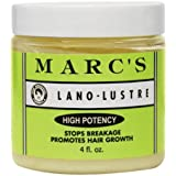 Marc's Lano-Lustre High Potency, Stops Breakage Promotes Hair Growth