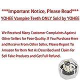 YOHEE 3 Pairs Vampire Teeth Fangs Dentures Cosplay Props Halloween Costume Props Party Favors