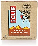 CLIF BAR, BAR, OG3, CRNCHY PNUT BUTTR, Pack of 9, Size 6/2.4 OZ - No Artificial Ingredients Kosher 70%+ Organic